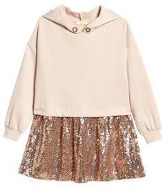Soprano Hooded Sequin Dress
