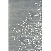Acrylic Tufted Area Rugs with Flowering Straw... – USD $ 114.99