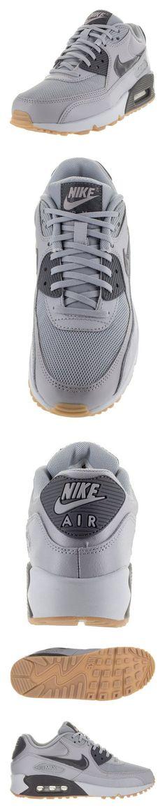 217.63 - Nike Women s Air Max 90 Essential Wlf Grey Dark Grey Pr Pltnm Gm  Lg Running Shoe 6 Women US  shoes  nike  2015 59821116f