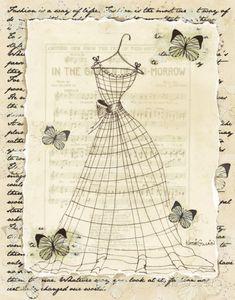 Vintage Dress and Ephemera Background ~ MI BAUL DEL DECOUPAGE: NOS VAMOS DE REBAJAS?...