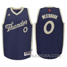 b55d047ee458be Youth Oklahoma City Thunder  0 Russell Westbrook 2015 Christmas Navy Jersey  Online GtTppAd