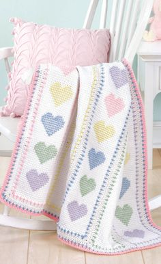 Crochet Baby Blankets with Love Timeless Classic Blankets for Every Baby Crochet Patterns Crochet Blanket Patterns, Baby Blanket Crochet, Baby Patterns, Stitch Patterns, Crochet Blankets, Crocheted Baby Afghans, Cross Stitch Baby Blanket, Manta Crochet, Crochet Bear