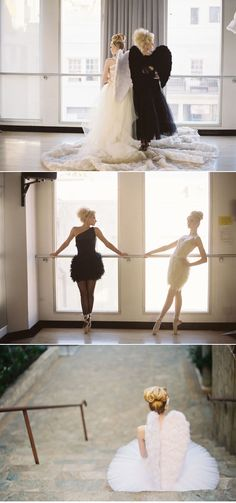 Ballet Inspired Shoot by Jessica Claire + Jill La Fleur | Style Me Pretty