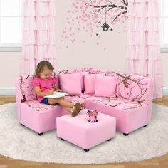 Kids Seating - A Collection by Sam - Favorave Kids Living Rooms, Living Room Sets, Kids Playroom Furniture, Playroom Ideas, Kids Couch, Play Kitchen Sets, Kids Bookcase, Cute Bedroom Ideas, Kids Seating