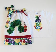 Custom Boutique Very Hungry Caterpillar by Janslittlehearts