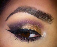 Purple & Gold smoke