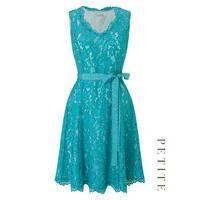 Petite Lace Prom Dress