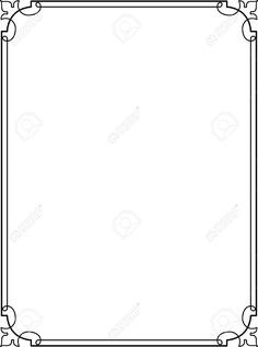 download simple gold certificate border ppt template from the