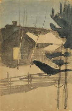 View Winter View from a Yard by Helene Sofia Schjerfbeck on artnet. Browse upcoming and past auction lots by Helene Sofia Schjerfbeck. Helene Schjerfbeck, North Europe, Global Art, Art Market, Modern Art, Past, Winter, Artist, Painting