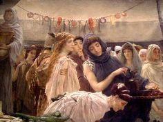 Sir Lawrence Alma-Tadema: The Women of Amphissa (1887)