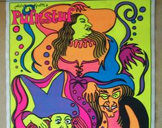 sid and marty krofft   ... blacklight poster from the Pufnstuf movie by Sid and Marty Krofft