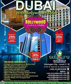 , 83 : Satu lagi kami memberikan kesempatan menarik kepada anda semua untuk bisa berlibur berpetualang ke Dubai dengan Bollywood Style lewat penawaran istimewa dan paket yang terbaik sesuai pilihan anda. Pesan sekarang juga! -------------------------- Dapatkan juga diskon / voucher dan promo khusus di bulan ini. -------------------------- Hubungi kami atau kunjungi: Kuningan City - Level 2 / 18  Jl. Prof. Dr. Satrio Kav.18 Jakarta.  Check our bio for details.  IG: @satgurutravel.id  FB…