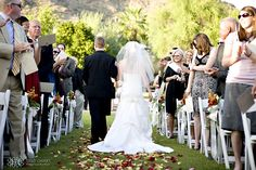 Here comes the #bride...at JW Marriott Camelback Resort & Spa. Credit: Cristi Owen Photography