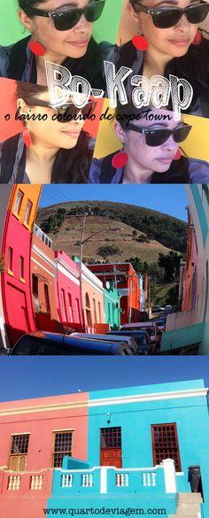 Bo-Kaap, o bairro mais colorido da Cidade do Cabo. #bo-kaap #cidadedocabo #capetown #quartodeviagem #africadosul