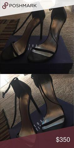 Stuart Weitzman Nudist sz 42 Only worn once!! Strappy Nudist sandals ❤️ Stuart Weitzman Shoes Heels