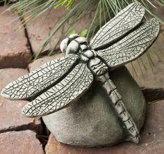 Dragon Fly Garden Statue
