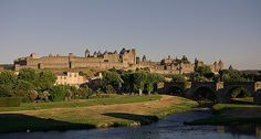 The French city of Carcassonne is one of the most perfectly preserved walled cities of the world and the largest walled city in Europe.