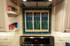 Customer Photographs | Kitchens from Motawi Tileworks