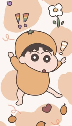 Sinchan Wallpaper, Funny Iphone Wallpaper, Kawaii Wallpaper, Animal Wallpaper, Aesthetic Iphone Wallpaper, Cartoon Wallpaper, Crayon Storage, Sinchan Cartoon, Cute Patterns Wallpaper