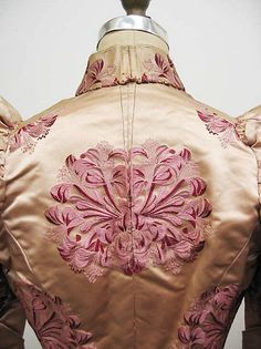 Dress (image 5) | House of Worth | French | 1895 | silk, linen | Metropolitan Museum of Art | Accession Number: 2006.558.1a–c