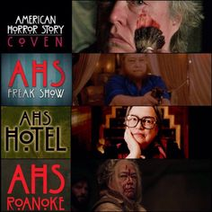 Kathy Bates AHS characters 💙