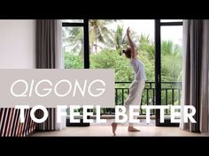Feel great in 10 minutes by doing this easy Qigong routine for beginners. Slow down, breathe and relieve stress and anxiety naturally. Reiki Meditation, Meditation Music, Shotokan Karate Kata, Tai Chi Exercise, Tai Chi Qigong, Keep Fit, Boxing Workout, Aikido, Stress And Anxiety