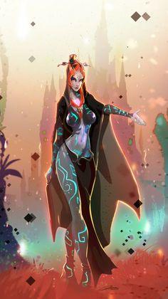 Midona, la princesse du Crépuscule.                                                                                                                                                                                 More