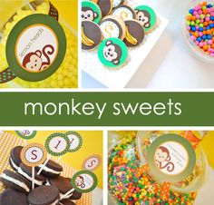 Monkey-Themed Play Group Birthday Party | Project Nursery