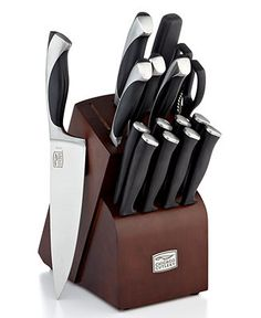 Chicago Cutlery Fullterton, 16 Piece Set - Cutlery & Knives - Kitchen - Macy's