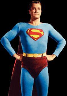 George Reeves As Superman Batman Y Superman, Superman Family, Superman Stuff, Action Comics 1, Dc Comics Art, Comic Book Characters, Comic Books, George Reeves, Hero Tv