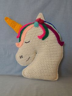Unicorn with flowers cuddle cushion nursery girls bedroom decor Cute and cuddly unicorn cushion suitable for all unicorn lovers. Perfect present for birthdays or baby showers. Size: approx including the horn For more information please contact me Girl Nursery, Girls Bedroom, Nursery Decor, Bedroom Decor, Unicorn Cushion, Cuddle, Baby Showers, Boho Decor, Horn