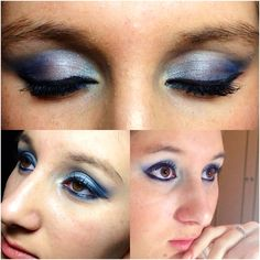 Silver and Blue make up
