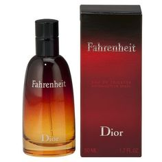 "FAHRENHEIT by Christian Dior (""Eau De Toilette Spray 1.7 oz"") by Dior. $62.98"
