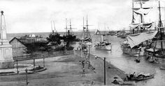 Mouth of the Pasig River, Manila, Philippines, 1898 or before