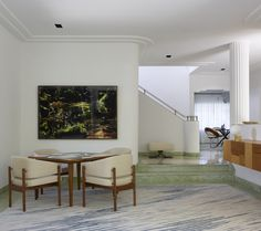 At home in a revived 1932 Miami villa with contemporary furniture dealer Stephan Weishaupt of Avenue Road, Richard-Powers photo | Remodelista