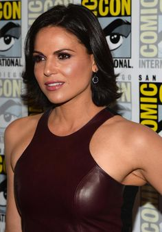 Actress Lana Parrilla attends 'Once Upon A Time' Press Line during Comic-Con International 2013 at Hilton San Diego Bayfront Hotel on July 20, 2013 in San Diego, California.