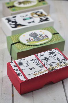 Perfektes kleines Geschenk für die Erkältungszeit: Gute Besserung Boxen für Schnupfennasen. Kombiniert mit einem Päckchen Taschentücher, einem Teebeutel und einem Hustenbonbon zaubern sie vielleicht ein kleines Lächelns ins Gesicht des Patienten. Mit freebies zum Ausdrucken lässt sich die DIY Idee ganz schnell nachbasteln.