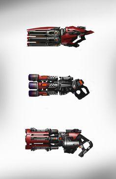 Concept Art UT4 Visual Style Development