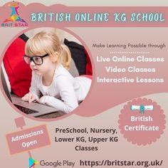 Educational Websites, Watch Video, Pre School, Certificate, Gain, Knowledge, British, Apps, Nursery