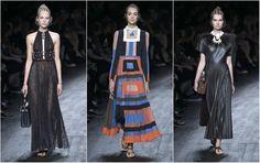 Trendy wiosna-lato 2016: pilsowane sukienki i spódnice
