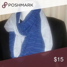 Two sided Jersey scarf Great scarf in great condition. Perfect compliment any outfit whether it be a nice dress jeans and t-shirt even a finish to jacket to keep you warm. Accessories Scarves & Wraps
