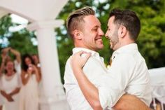 gay wedding couple - Google Search