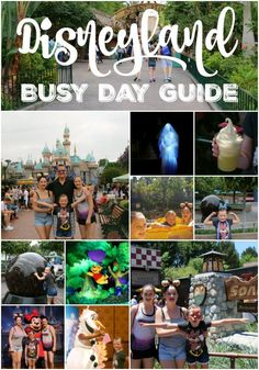 Disneyland Busy Day Guide!