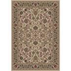 Persian Classics Mahal Ivory 7 ft. 10 in. x 11 ft. 2 in. Area Rug