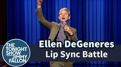 """Jimmy faces off with Ellen DeGeneres in a dramatic lip sync-off to songs like Silentó's """"Watch Me (Whip/Nae Nae)"""" and Rihanna's """"Bitch Better Have My Money.""""..."""