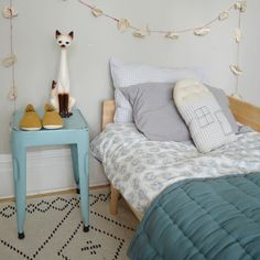 Camomile london is a British designer collection of contemporary, stylish nursery, children's and adults bedding and interiors. Home Bedroom, Kids Bedroom, Kids Rooms, Kid Spaces, Living Spaces, Pretty Room, Girl Room, Room Interior, Decoration