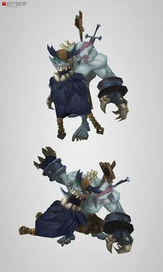 Low Poly Zombie Boss