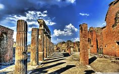 Archaeological Areas of Pompei, Herculaneum and Torre Annunziata Italy UNESCO