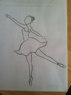 When I saw this pic I knew I had to draw it Als ich dieses Bild sah, wusste ich, dass ich es zeichne Girl Drawing Sketches, Girly Drawings, Art Drawings Sketches Simple, Pencil Art Drawings, Beautiful Drawings, Ballet Drawings, Dancing Drawings, Ballerina Drawing, Dancer Drawing