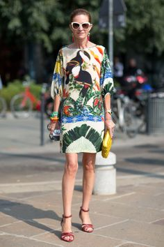 #fashion #women #trend #style #inspiration #jungle #tropical #